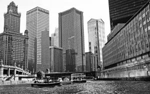 Chicago River Black And White From Negs Coming Soon